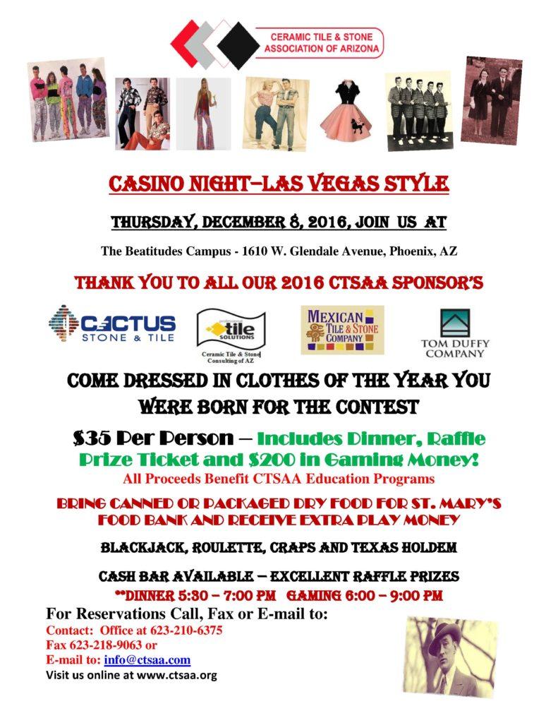 CASINO NIGHT @ The Beatitudes Campus | Phoenix | Arizona | United States