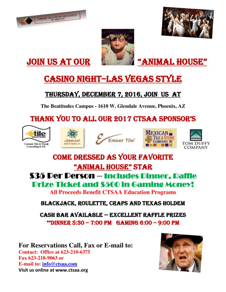 Holiday Casino Night @ Beatitudes Campus | Phoenix | Arizona | United States