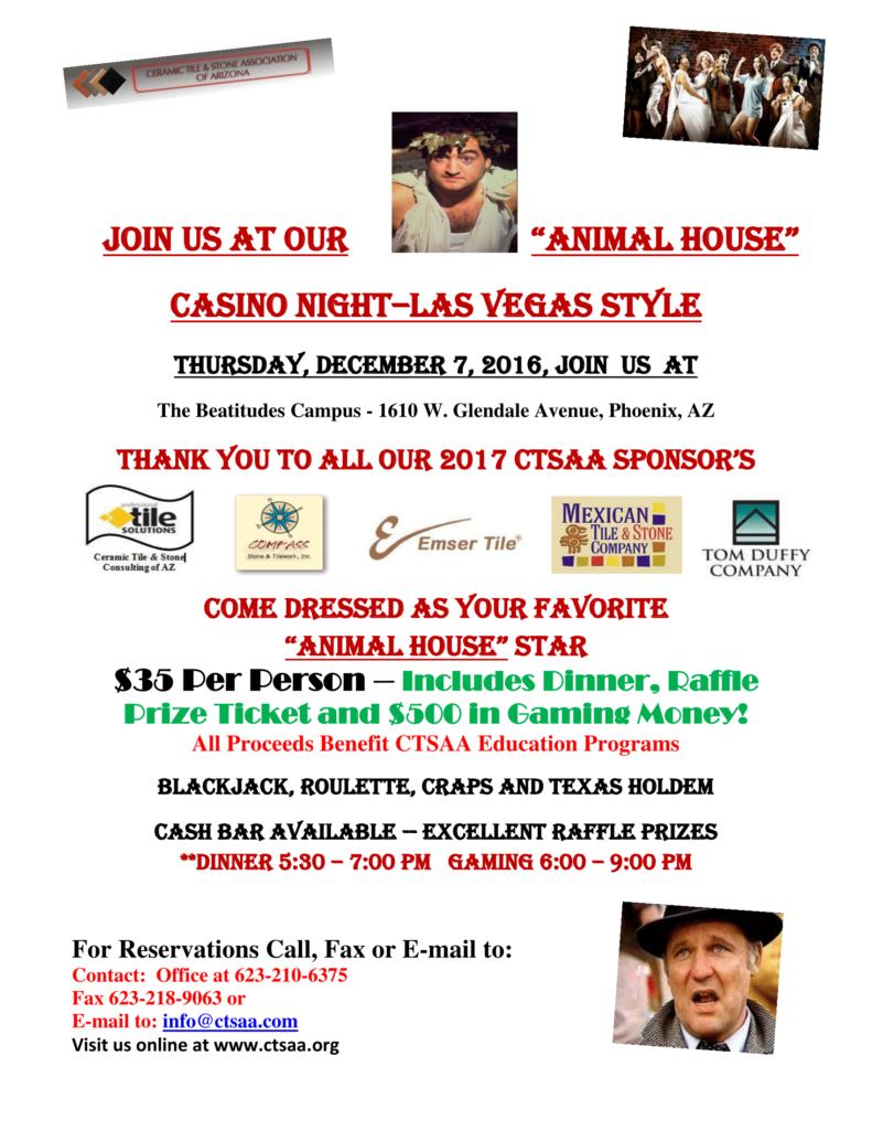Holiday Casino Night @ Beatitudes Campus | Phoenix | Arizona | United States