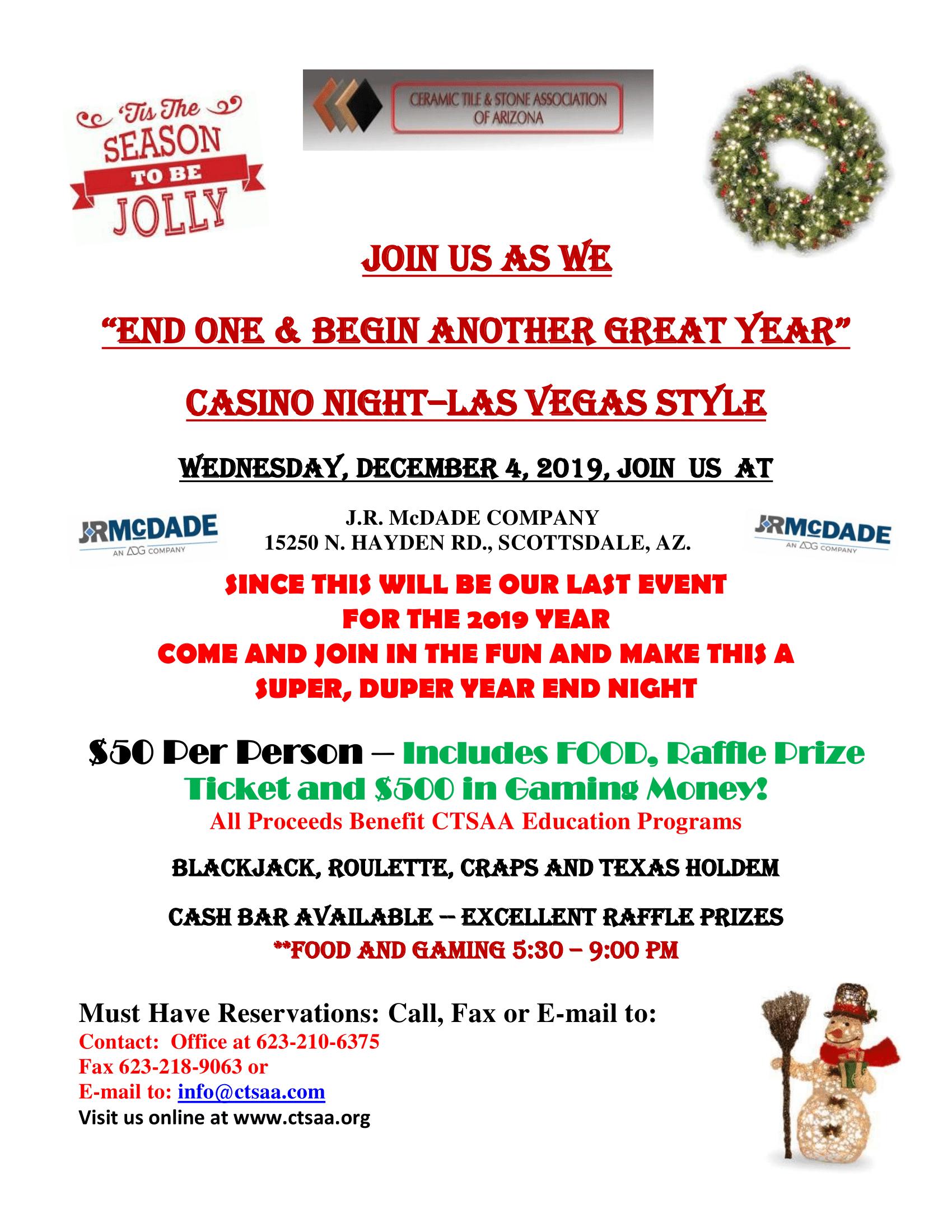 December Holiday Party @ J.R. McDade Company